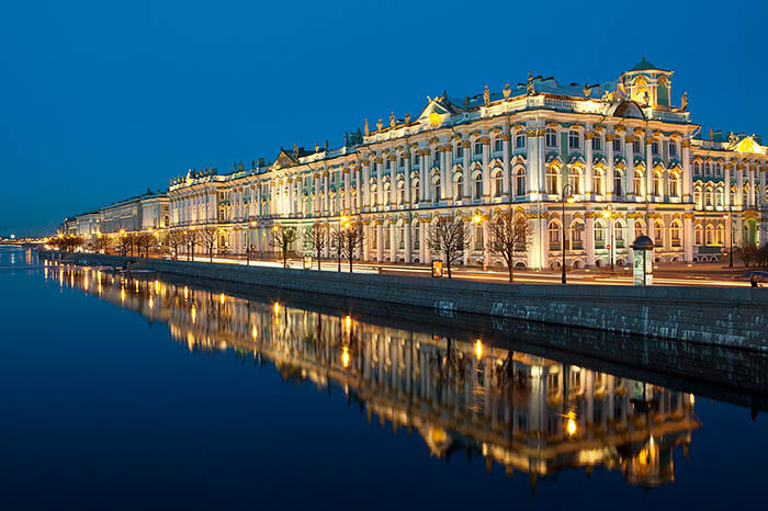 The Hermitage Musium in Winter Palace, St. Petersburg Russia