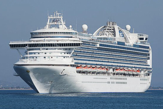 Ms Crown Princess In StPetersburg Russia - St petersburg tours for cruise ship passengers