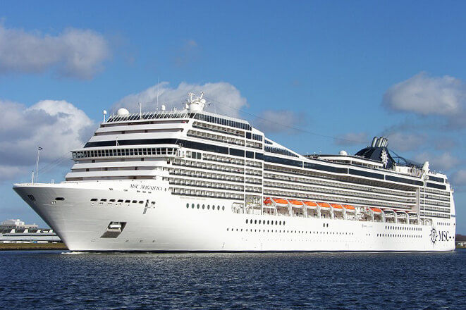 Ms MSC Magnifica In StPetersburg Russia - St petersburg tours for cruise ship passengers