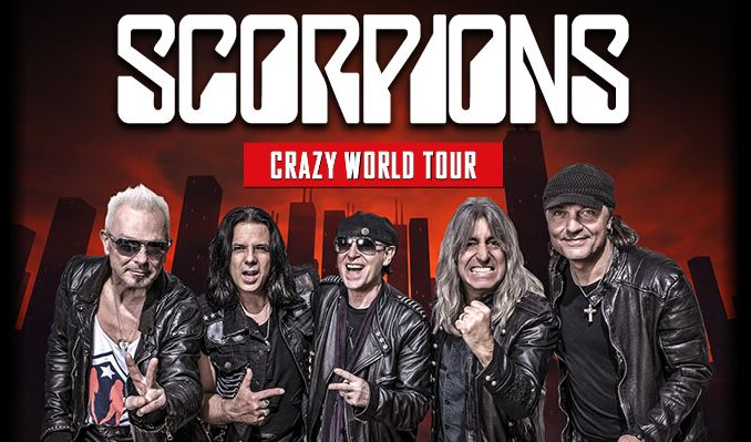Image result for Scorpions Crazy World tour photos