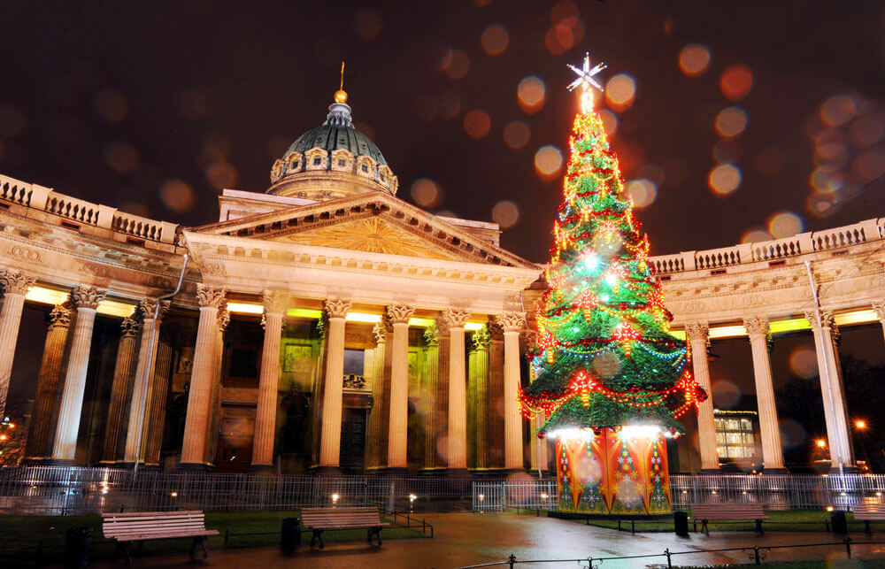 Crhistmas and New Year in St. Petersburg 2018