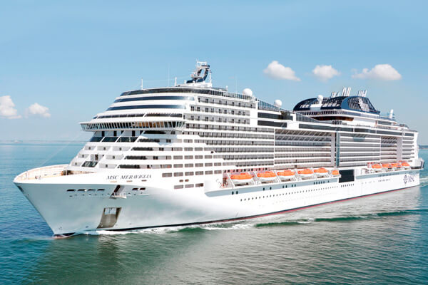Ms MSC Meraviglia In StPetersburg Russia Excursions - St petersburg tours for cruise ship passengers