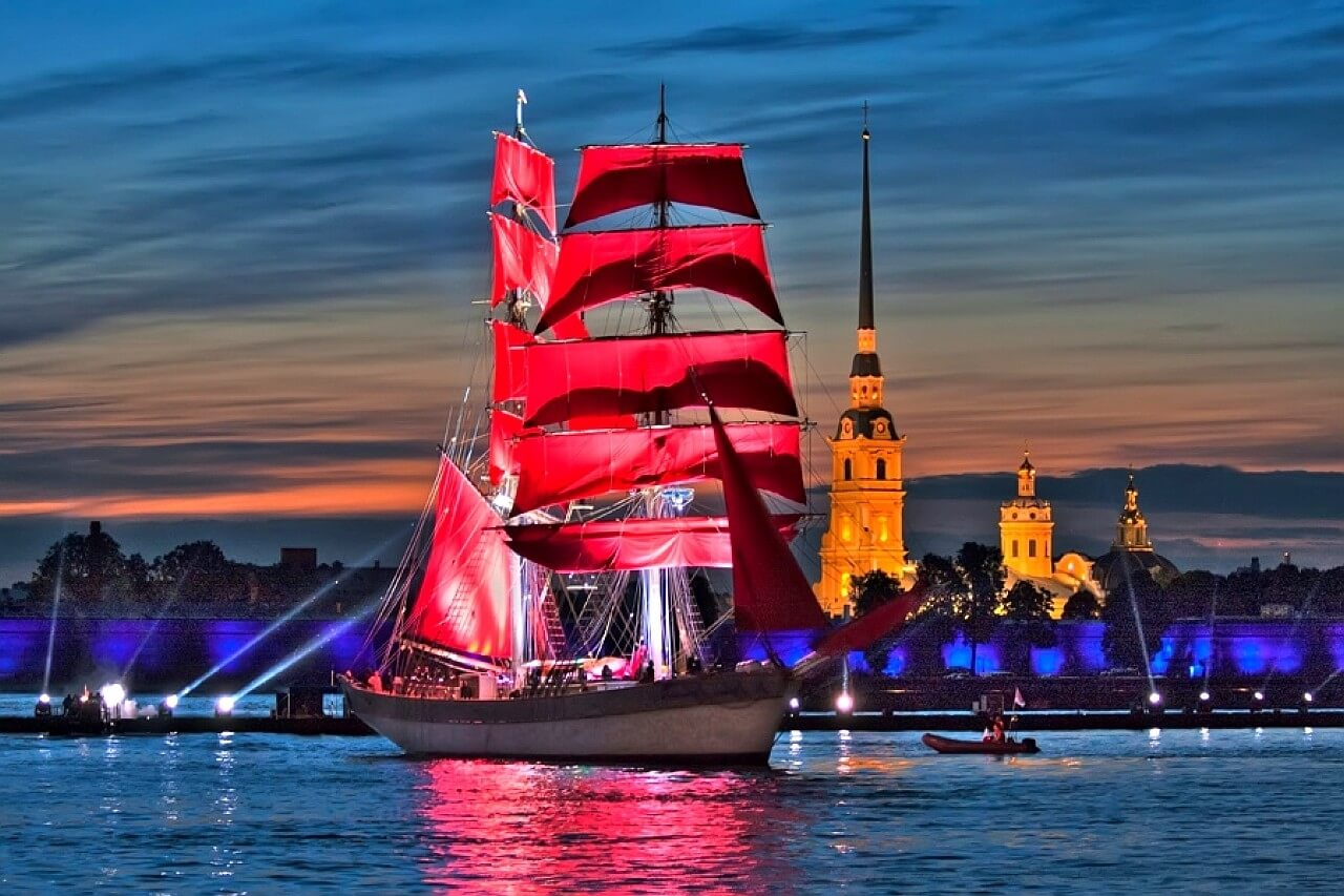 Scarlet sails in 2018 94